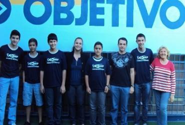 Finalistas da Olimpíada Regional de Matemática da UNESP.